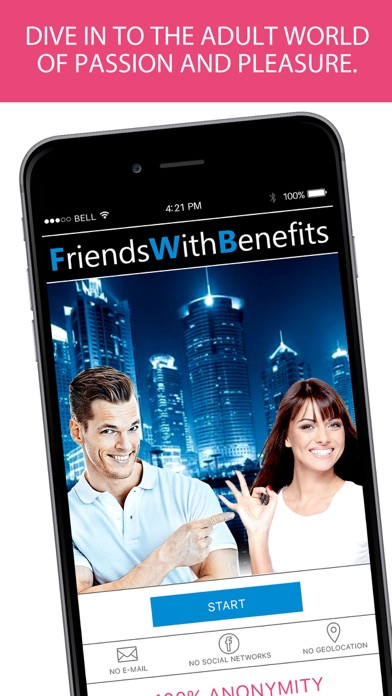 Friends With Benefits - meet women and men, chat app image