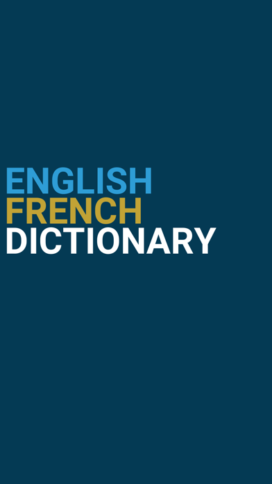 English : French Dictionary screenshot one