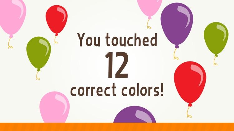 Toddler Learning Games Ask Me Color Games for Kids screenshot-3