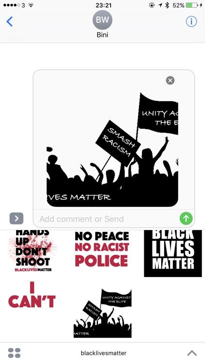 Black Lives Matter sticker pack