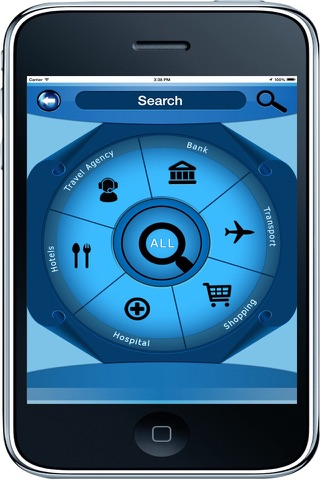 Memphis Tennessee - Offline Maps navigator - náhled