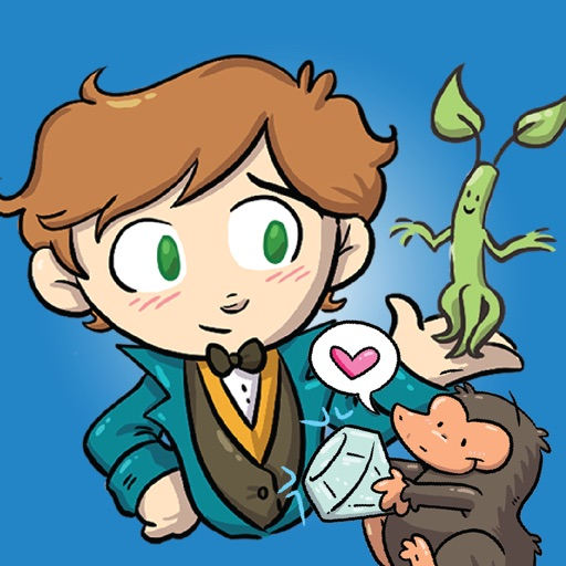FANTASTIC BEASTS AND WHERE TO FIND THEM STICKERS