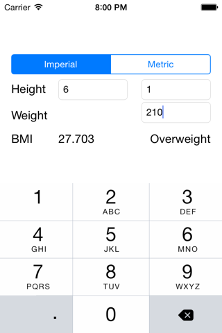 BMI Calculator - Simple Body Mass Index Calculator - náhled