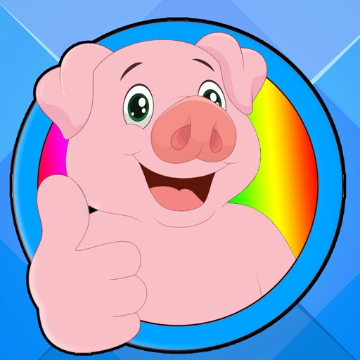 Coloring Pages Peppa Games For Kids Pig Version app logo
