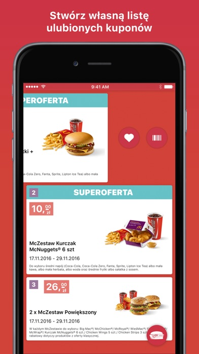 Screenshot for Kupony do McDonald's in Peru App Store