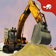 Activities of Excavator Crane: Bulldozer & Concrete Loader Drive