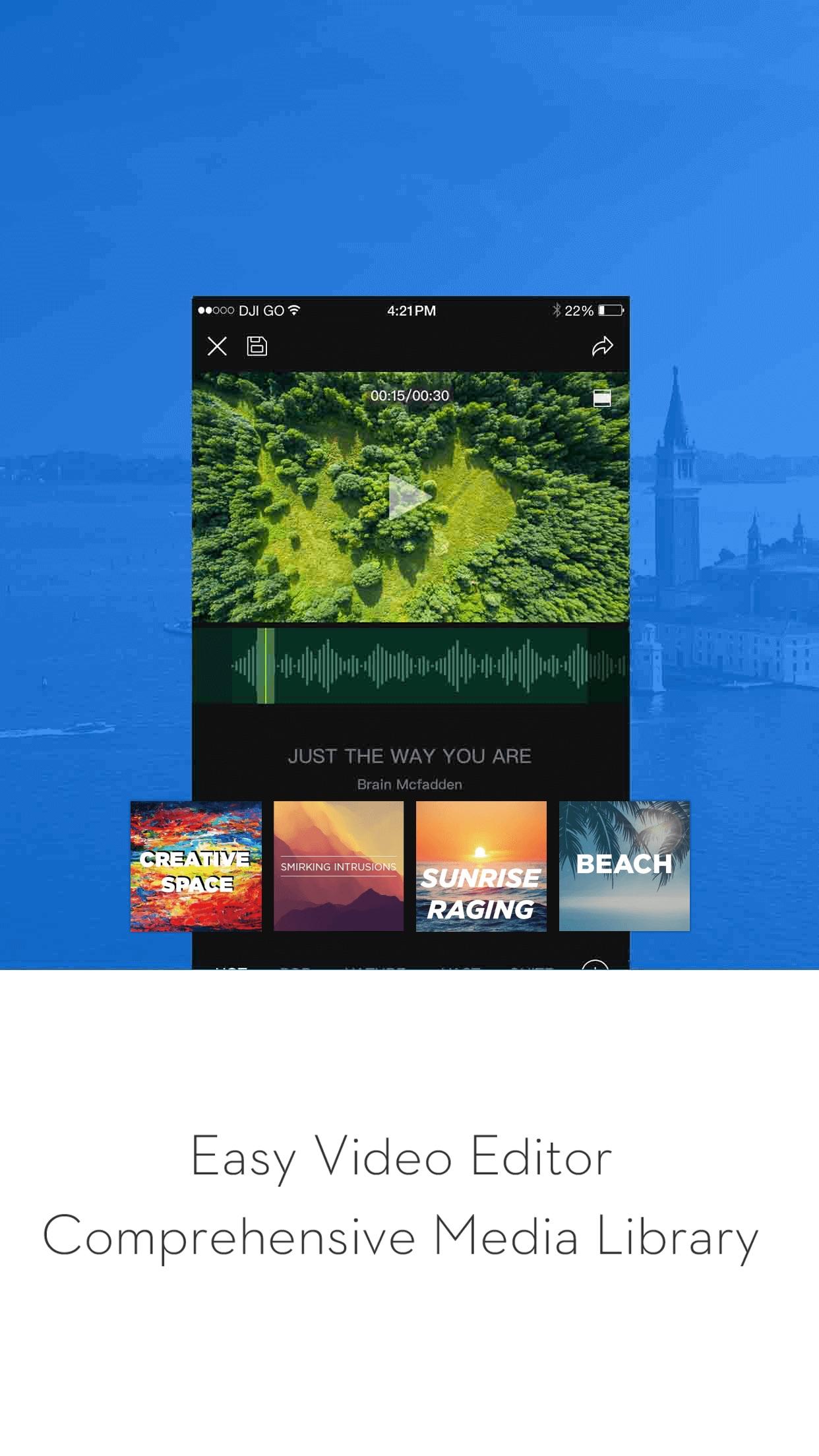DJI GO - For Phantom 3, Inspire1, OSMO and Matrice Screenshot