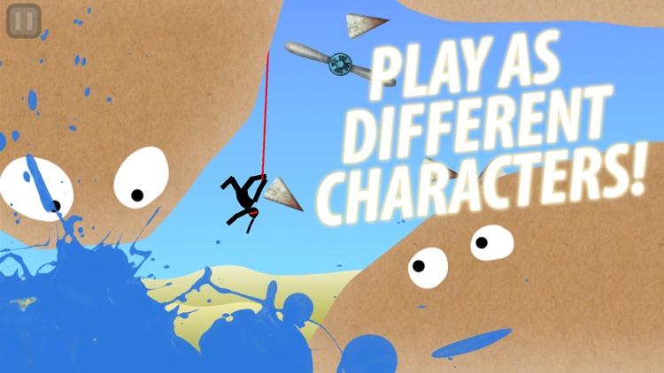 Hanger - Fun Rope Swing Game screenshot-3