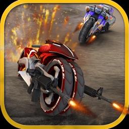 Real Demolition Derby Bike Racing & Crash Stunts