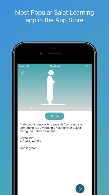 Salat Learning (Salah): Prayer for Muslim & Quran screenshot-3
