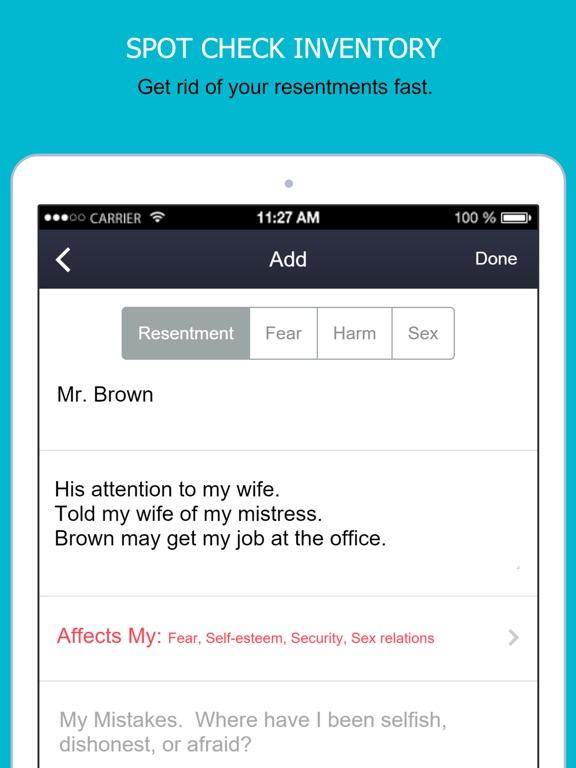 AA App - 12 Steps Alcoholics-ipad-3