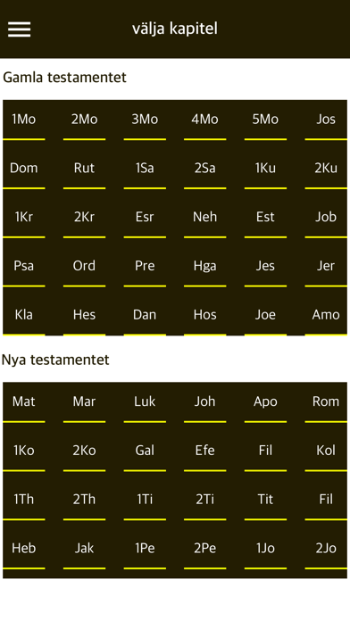 Holy Bible in Swedish Audio screenshot two