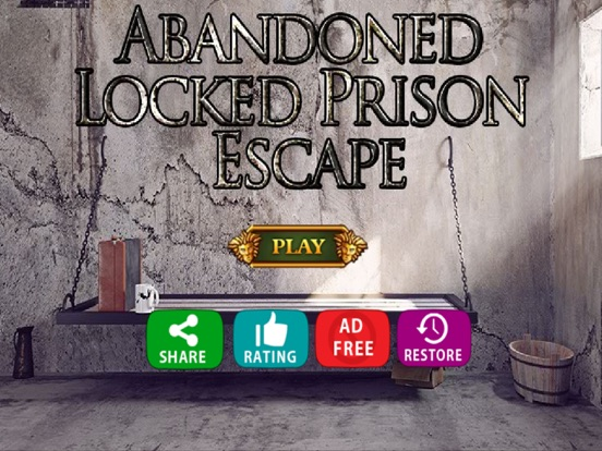 Abandoned Locked Prison Escape-ipad-0