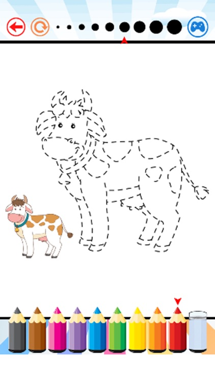 Total Animals Coloring Book - for Kid screenshot-4