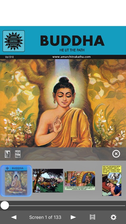 Buddha (The Enlightened One) - Amar Chitra Katha screenshot-0
