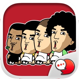 Football Live Chat Stickers Keyboard By ChatStick