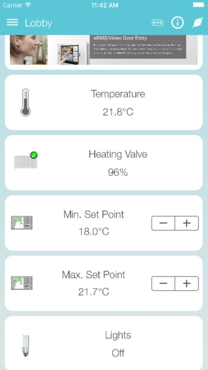 eBMS/Mobile Home Automation