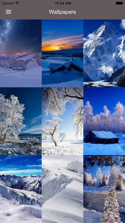 SnowFall - Cool HD WallpaperS,Backgrounds & Themes screenshot-0