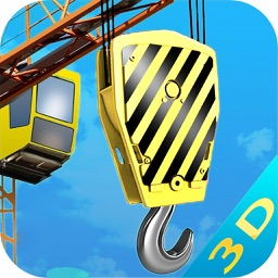 Crane Simulation 2016 : 3D Town Construction Game
