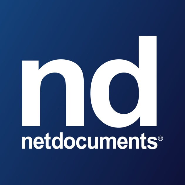 Netdocuments on the app store for Netdocuments search