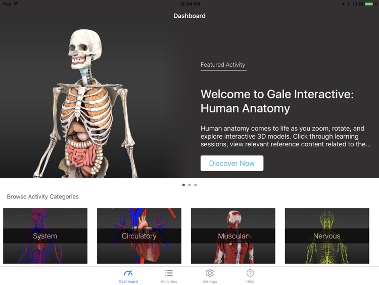Gale Interactive Human Anatomy By Vived