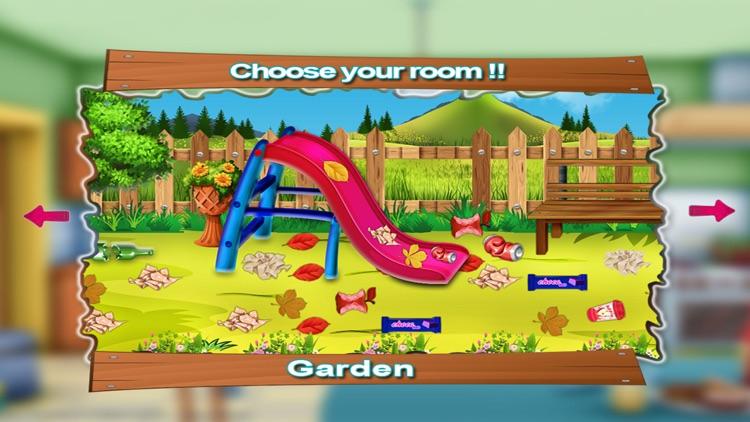 Kids House Cleaning Games screenshot-4