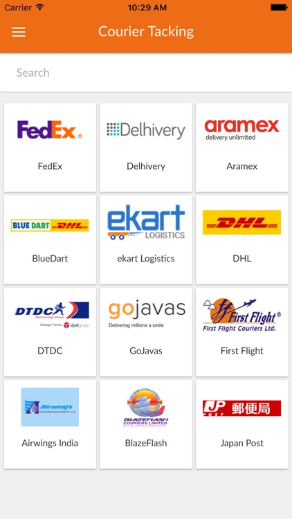 Courier Tracking All In One By Pankaj Savaliya