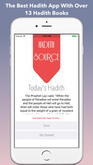 Hadith Source Pro - Sahih Al Bukhari & Muslim on the App Store
