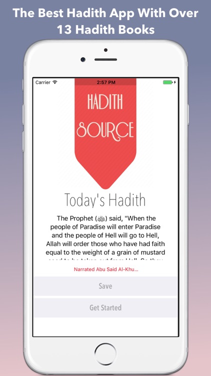 Hadith Source Pro - Sahih Al Bukhari & Muslim