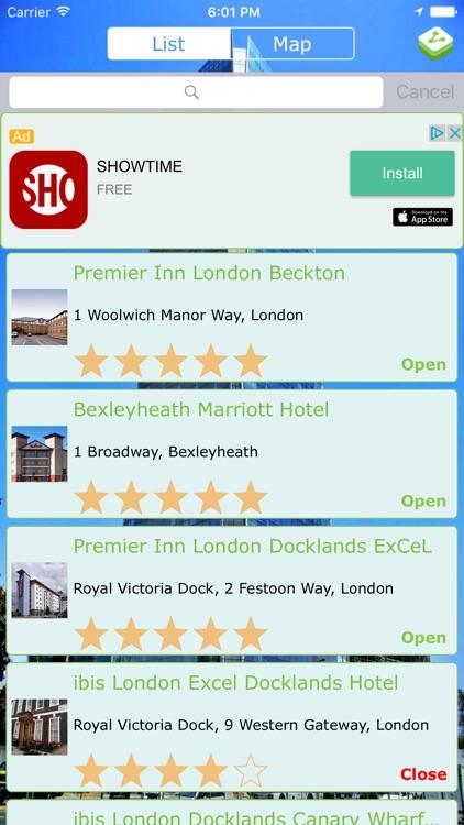 World Hotel Finder