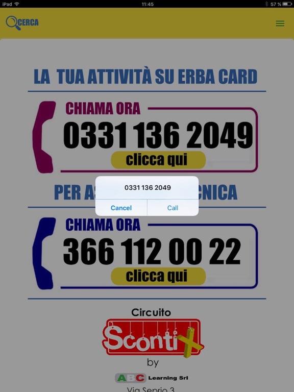 Erba card screenshot 5