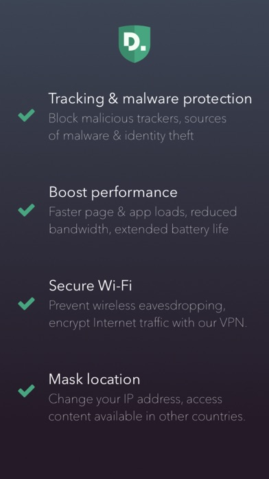 Disconnect Premium Privacy and Performance app image