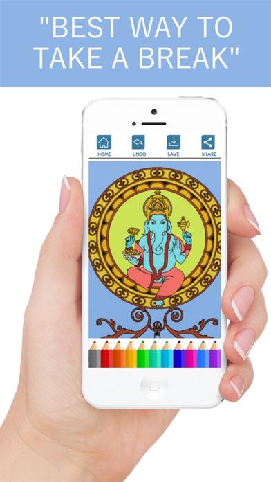 大人のための塗り絵帳 - Coloring bookスクリーンショット5