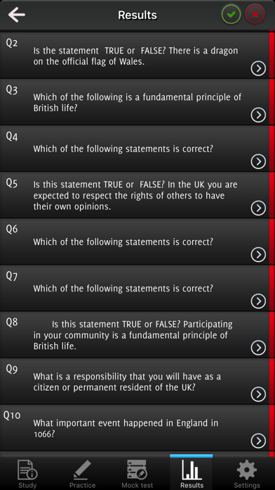Life in the UK Test Question 2017 screenshot 3