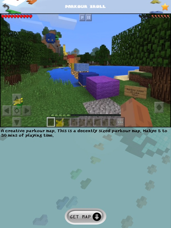 Free Parkour Maps for Minecraft Pocket Edition - Online Game