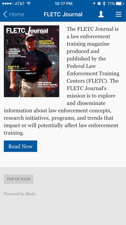 FLETC Mobile App screenshot-1