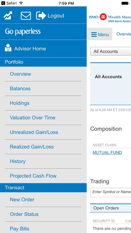 BMO Harris Financial Advisors screenshot-0