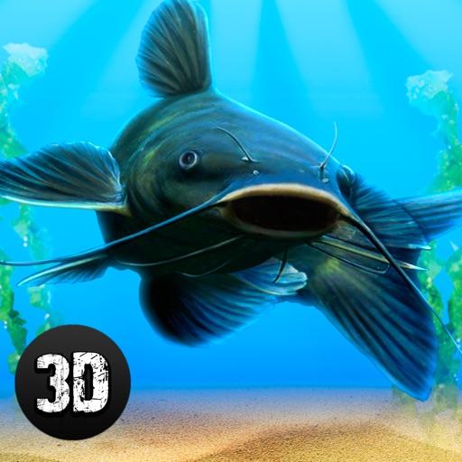 Catfish wild life fish simulator 3d by tayga games ooo for Real life fishing games