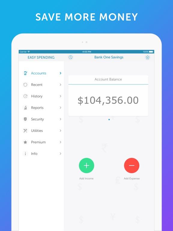 Screenshot #5 for Easy Spending -Expense Tracker