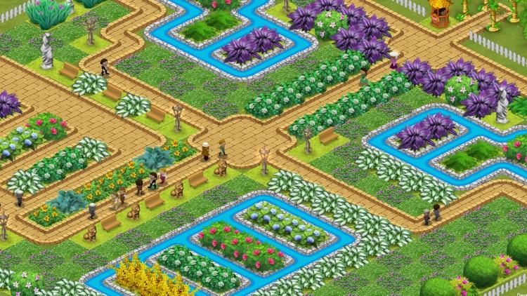 Queen's Garden 2 - A Gardening Match 3 Game