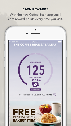 Coffee bean app iphone