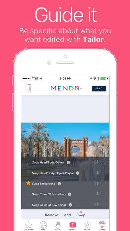 Mendr | We edit your photos