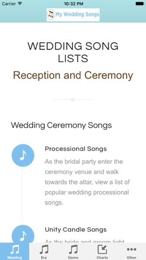 Popular Wedding Songs.My Wedding Songs On The App Store