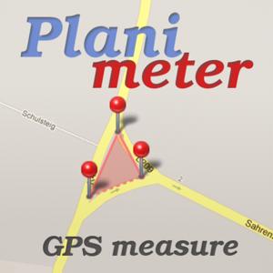 Planimeter - Field Area Measure on Map & GPS Track app