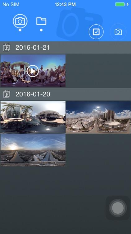 Denver 360° action camera screenshot-3