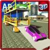 Racer Car Transporter Truck & Real Trucker Games