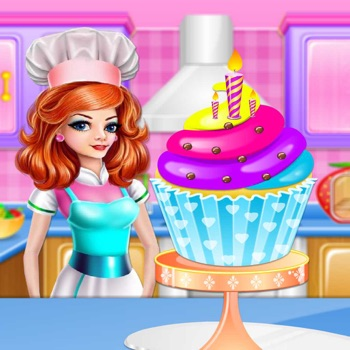 Sweet Heart Cupcake HD