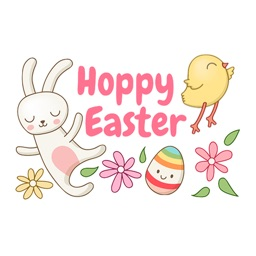 Easter Spring Sticker