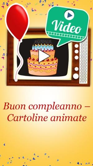 cartoline animate di buon compleanno da