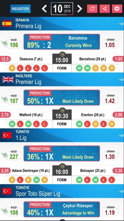 Tips Betting Prediction Results - Football LE screenshot-4